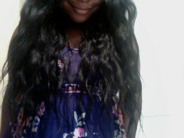 So lately I've been trying a new brand of wavy virgin indian hair that I ...